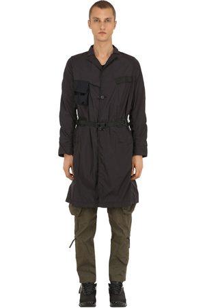 NILMANCE Military Pack Long Nylon Coat