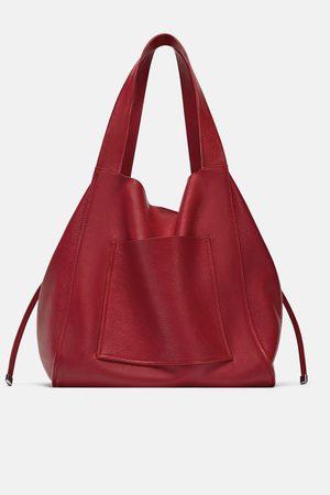 Zara Shopper en cuir