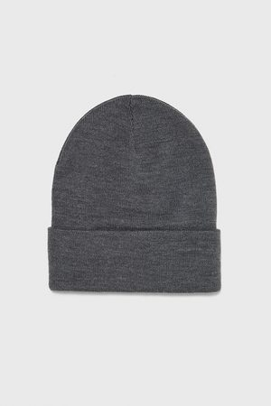 Zara Homme Bonnets - Bonnet en maille