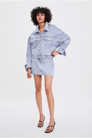Zara Jupe en jean coloré