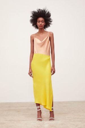 Zara Robe style lingerie color block
