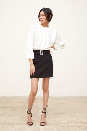 Zara Mini jupe à ceinture bijou