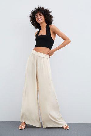 pantalon femme fluide zara