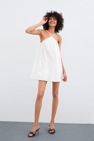 Zara Poplin playsuit dress