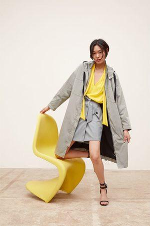 Zara Parka longue oversize à capuche