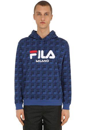Fila Femme Sweatshirts - Sweat-shirt À Capuche Avec Imprimé Logo