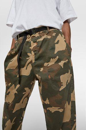Zara Joggings - Pantalon de jogging soft en denim camouflage