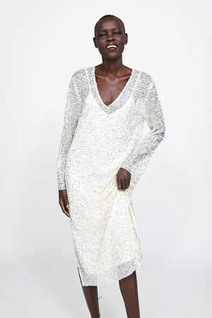 Zara Robe à paillettes