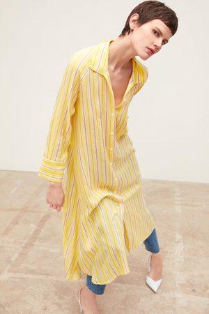 Zara Striped dress with pocket