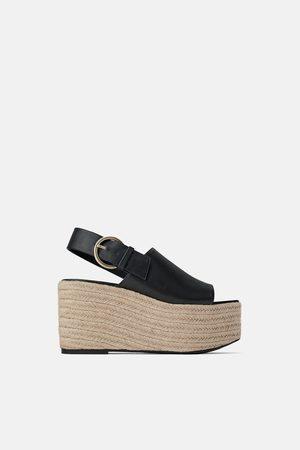 Zara Femme Chaussures compensées & Plateformes - Chaussures à talons compensés avec boucle join life