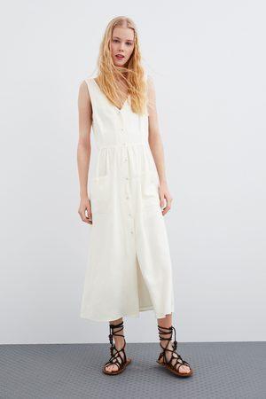 Zara Robe rustique à poches