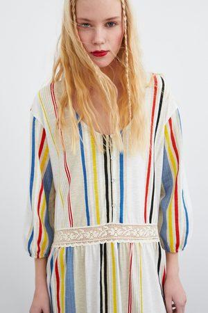 Zara Robe à rayures