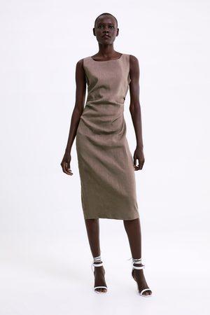 Zara Femme Robes - Robe avec fronces