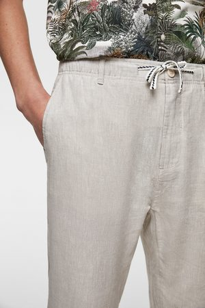 Zara Pantalon de jogging fluide