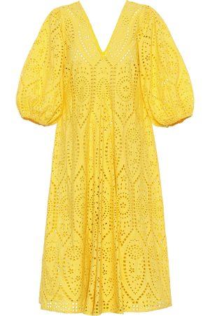 Ganni Exclusivité Mytheresa – Robe en coton à broderie anglaise