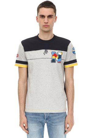 Napapijri Homme T-shirts - T-shirt En Jersey De Coton Logo