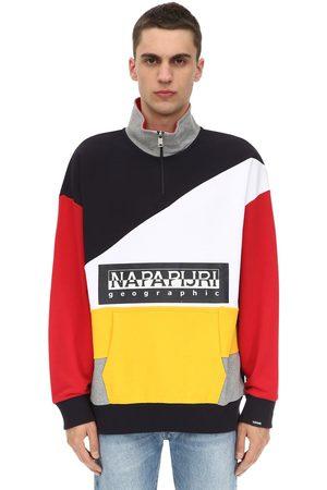 "Napapijri Sweat-shirt En Coton ""terry Bek Hz"""