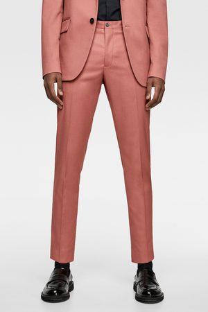 Zara Homme Costumes - Pantalon de costume de couleur