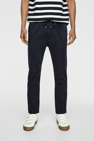 Zara Pantalon de jogging soft en coton