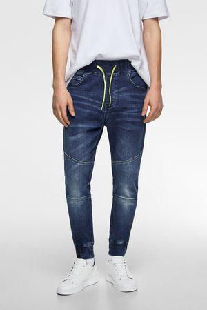 Zara Pantalon de jogging soft en jean