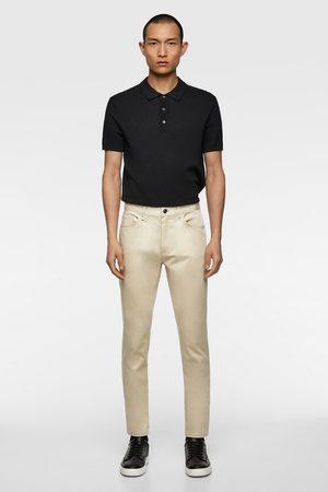 Zara Pantalon skinny de couleur