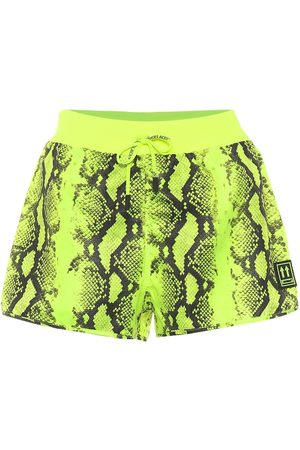 OFF-WHITE Short imprimé python