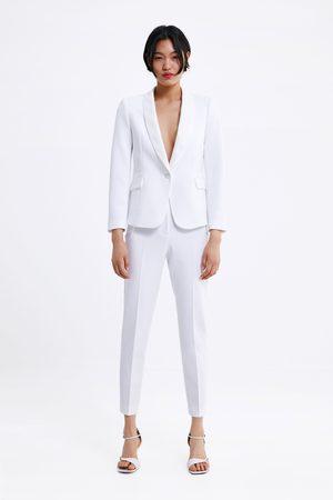 Zara Pantalon de smoking avec bandes latérales