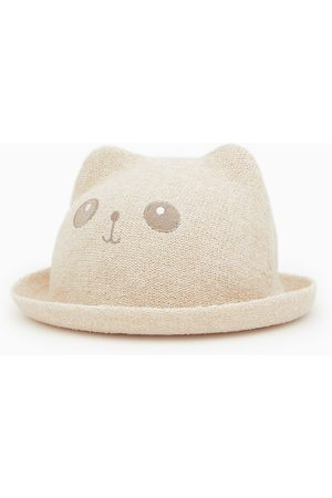 Zara Chapeau de paille avec oreilles