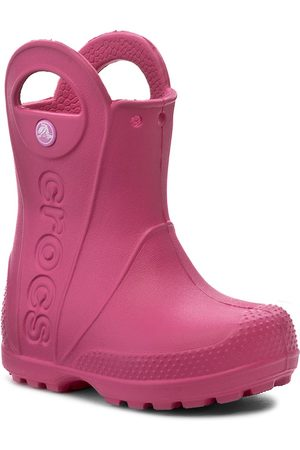 Crocs Bottes de pluie CROCS - Handle It Rain Boot Kids 12803 Candy Pink