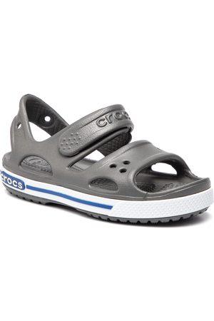 50afc4edd4778 Crocs Garçon Sandales - Sandales - Crocband Ii Sandal Ps 14854 Slate  Grey Blue Jean