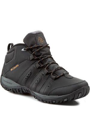 Columbia Chaussures de trekking - Peakfreak Nomad Chukka Wp Omni Heat BM3926 Black/Goldenrod 010