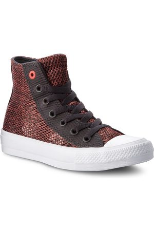 Converse Sneakers CONVERSE - Ctas II Hi 155729C Almost Black/Ultra Red/White