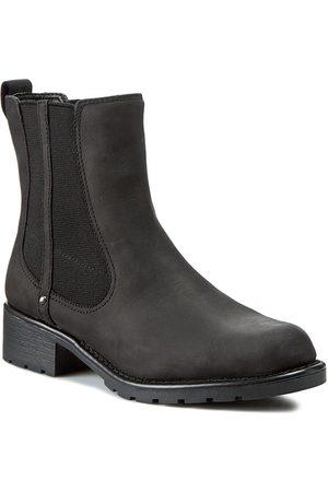Clarks Bottines Chelsea - Orinoco Club 203409184 Black Leather