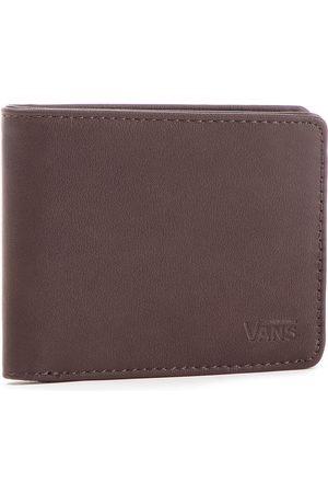 Vans Portefeuille homme grand format VANS - Drop V Bifold W WN0A31J8DRB Dark Brown 454