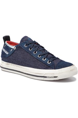 Diesel Tennis - Exposure Iv Low W Y00637 P2180 H3303 Indigo Blue/Multicol