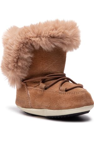Moon Boot Fille Bottines - Bottes - Crib Suede 34010300001 Whiskey