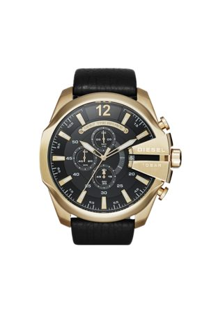 Diesel Montre - Mega Chief DZ4344 Gold/Black/Gold