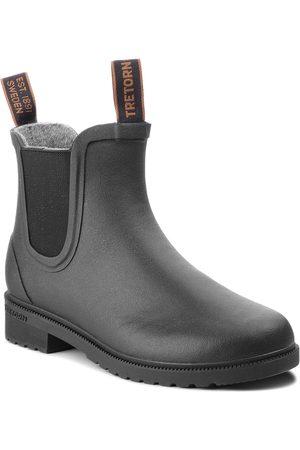 Tretorn Bottes de pluie - Bottes de pluie TRETORN - Chelsea Classic Wool 473417 Black 10