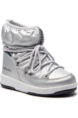 Moon Boot Bottes de neige - Jr Girl Low 34051800002 Silver Met.