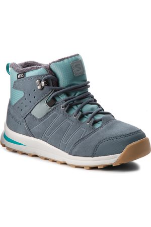 Salomon Boots - Utility Ts Cswp J 404787 14 W0 Trellis/Stormy Weather/Tropical Green