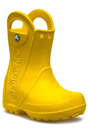 Crocs Bottes de pluie CROCS - Handle It Rain 12803 Yellow