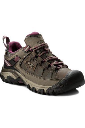 Keen Chaussures de trekking - Targhee III Wp 1018177 Weiss/Boysenberry