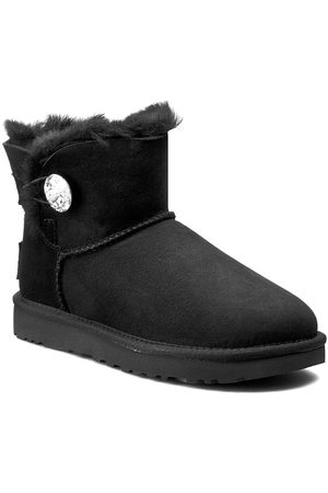 UGG Chaussures - W Mini Bailey Button Bling 1016554 W/Blk