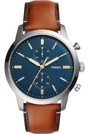 Fossil Montre - Townsman FS5279 Light Brown/Silver/Steel