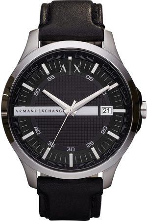 Armani Montre - Hampton AX2101 Black/Silver
