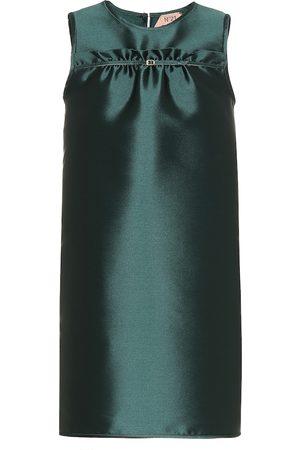 Nº21 Femme Robes sans manches - Robe en soie mélangée