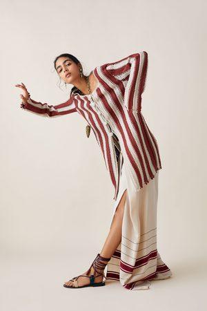 Zara Studio - manteau en crochet bicolore édition limitée