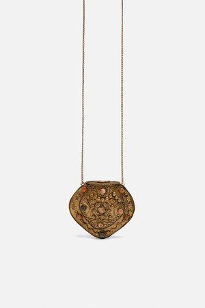 Zara Collier sac minaudière à pierres édition limitée