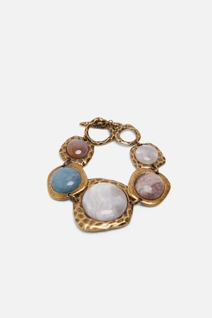 vente chaude pas cher vendu dans le monde entier 100% authentique Bracelet en matières variées à pierres édition limitée
