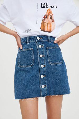 1b019a8921e6ba Mini jupe en jean